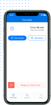 clockineasy app on iphone