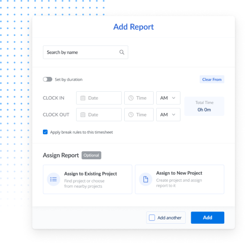 manual entry online timesheets